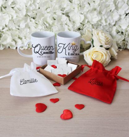 Box personnalisée Saint Valentin