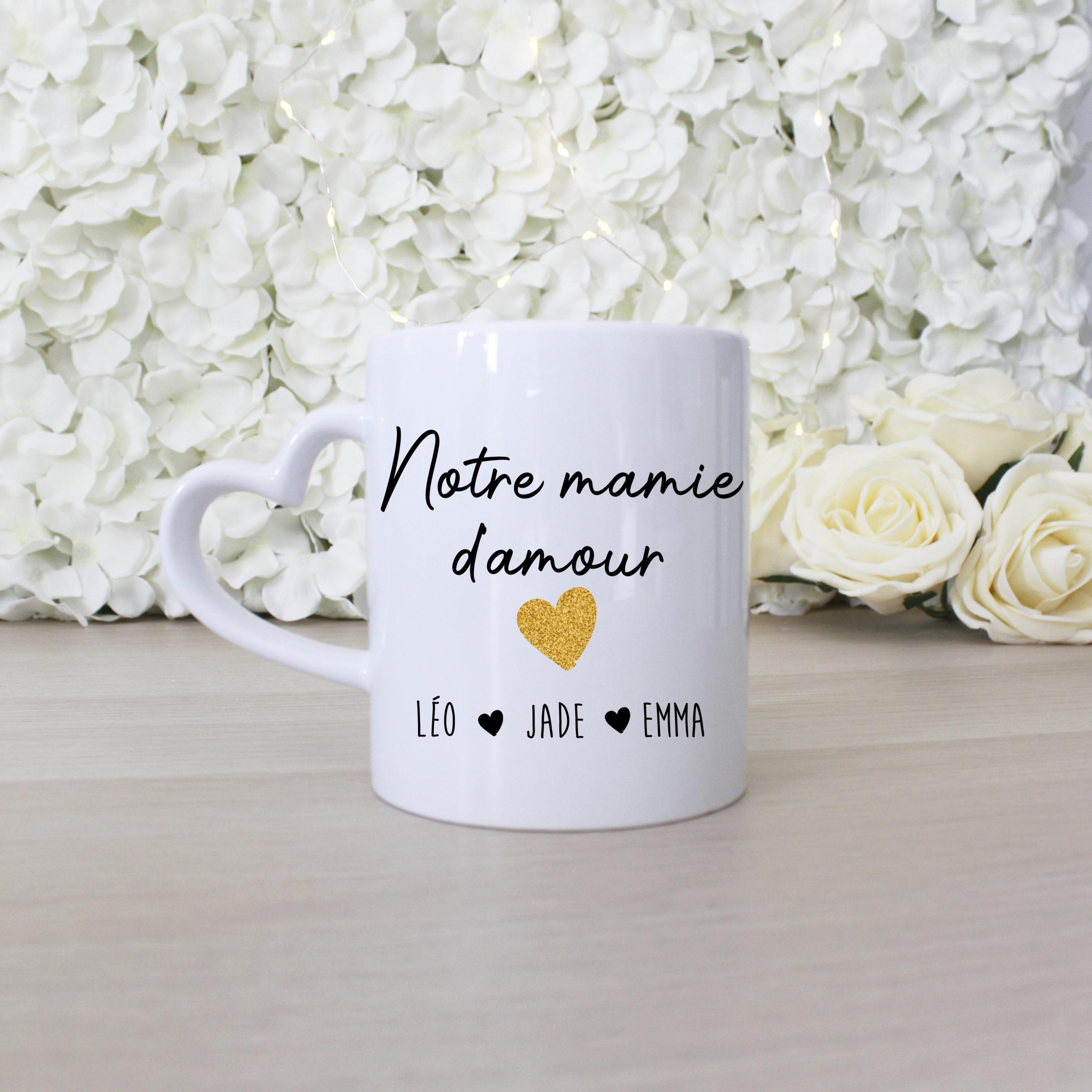 Mug personnalisé mamie d'amour