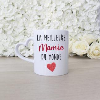 Mug personnalisé meilleure mamie du monde