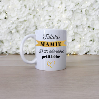 Annonce originale grossesse mug