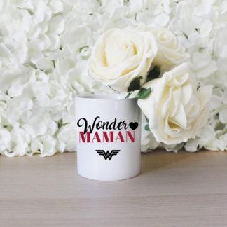 Pot à crayon fête des mères wonder maman
