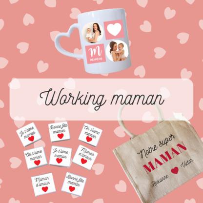 Box personnalisé working maman