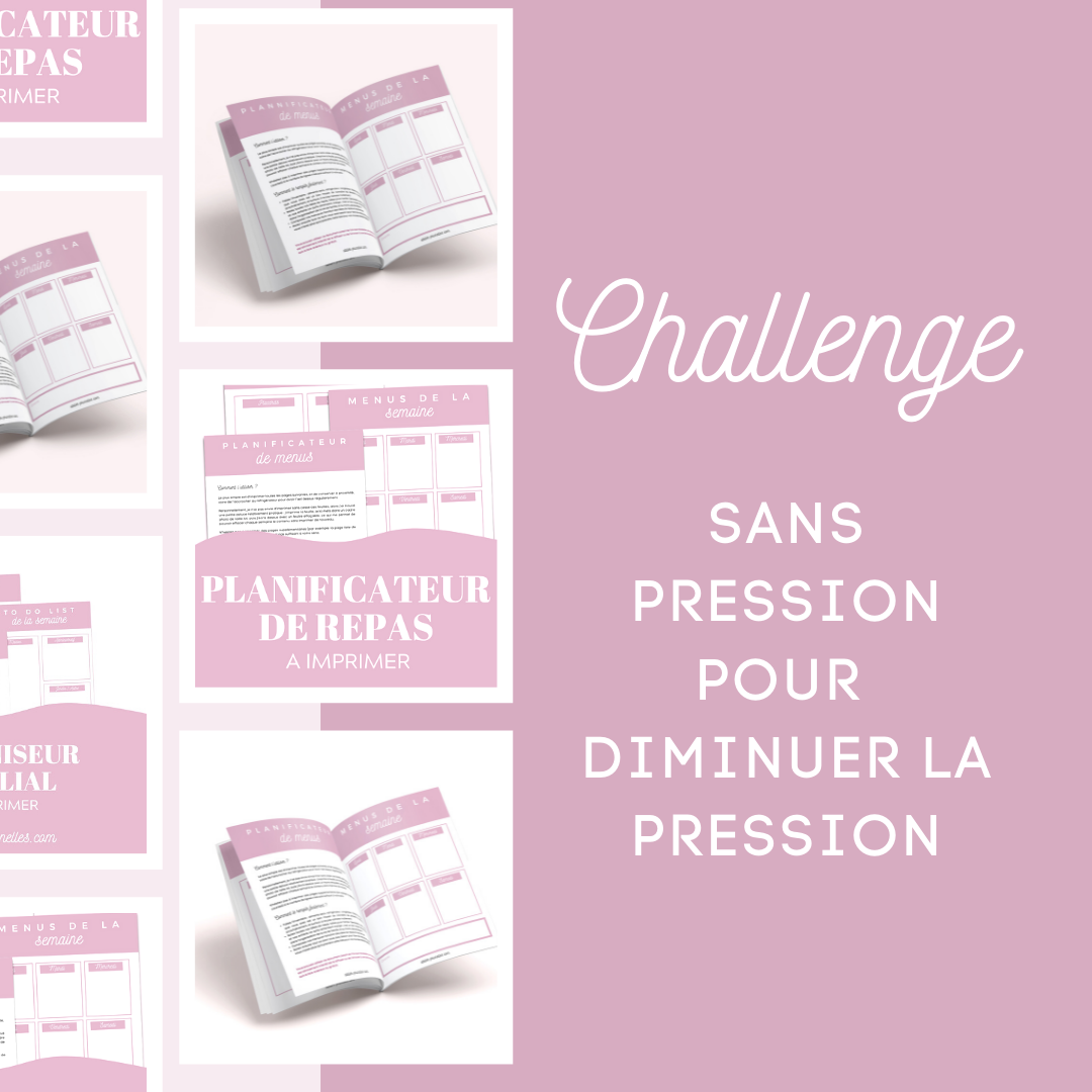 challenge diminuer charge mentale